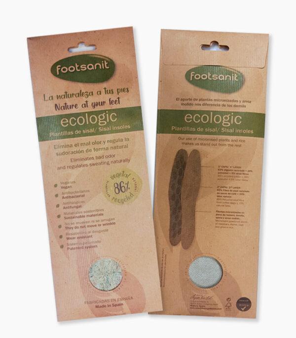 Plantilla ecológica Sisal Footsanit