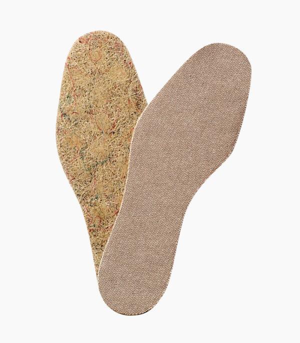 Plantilla ecológica Sisal plana Footsanit